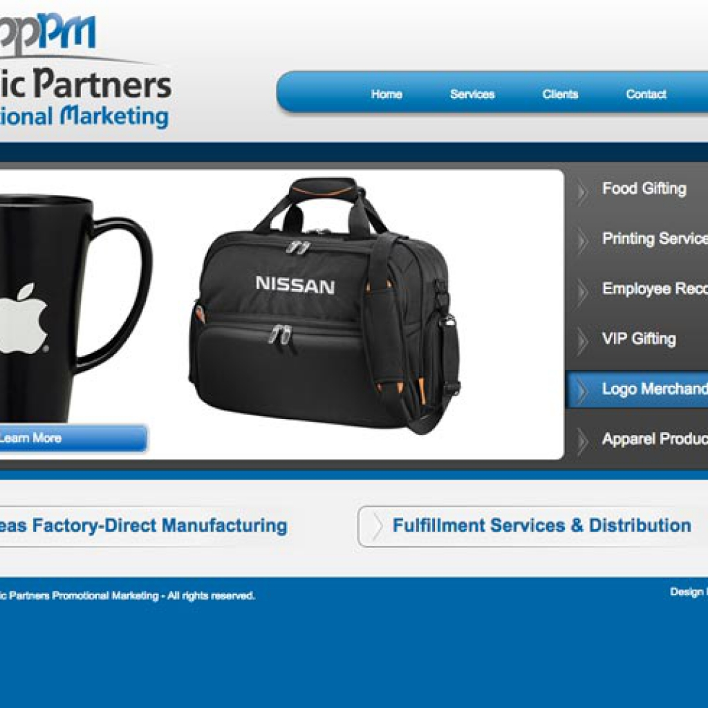 pacific partner pm website