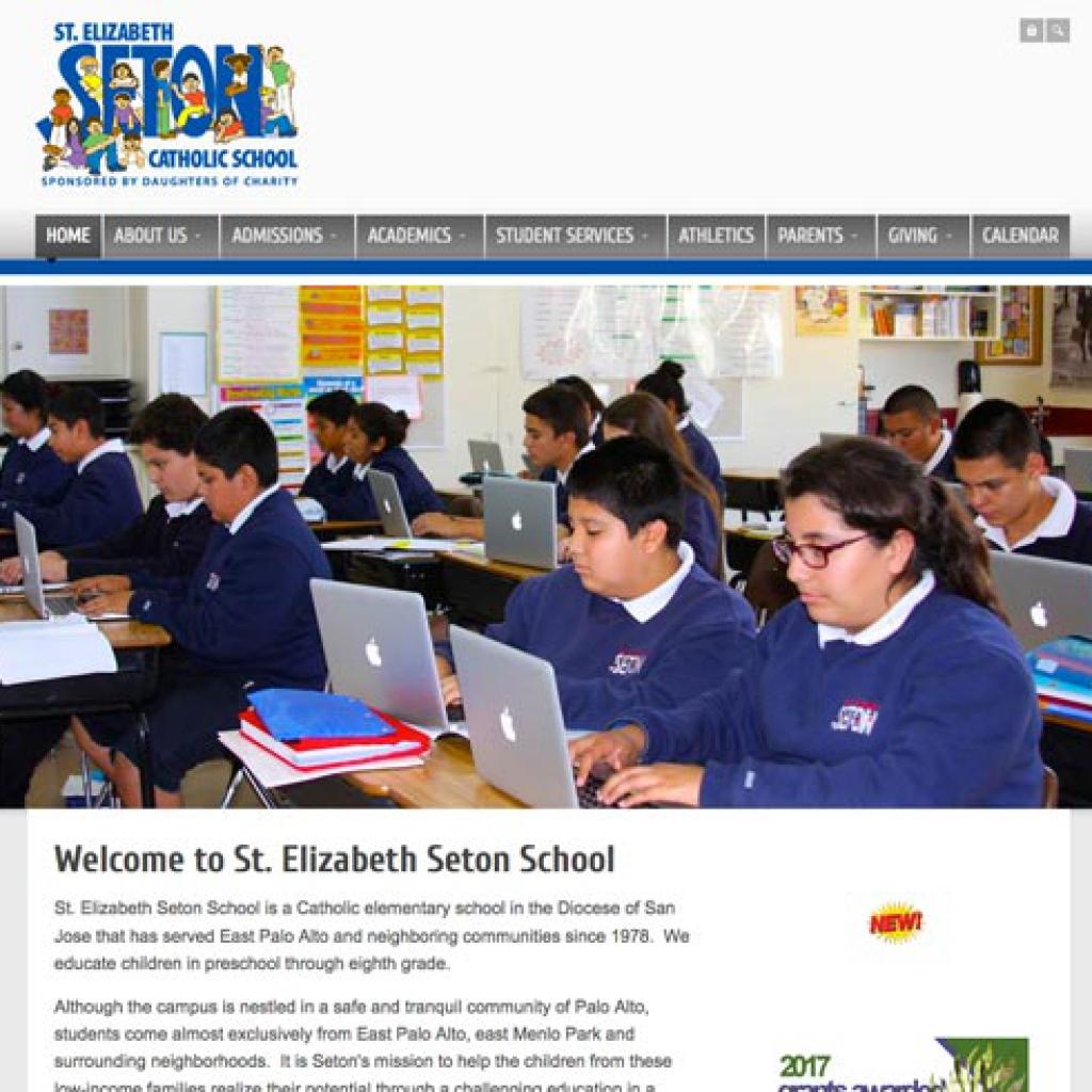 seton school website