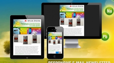 Applied Spectra Email Newsletter