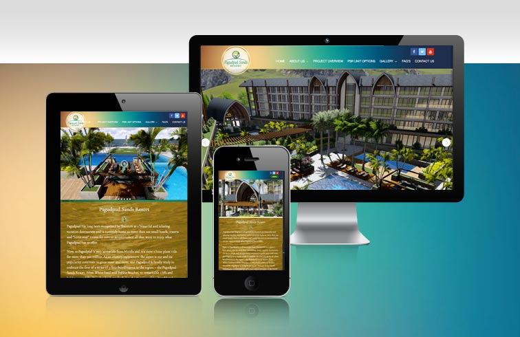 Pagudpud Sands Resort Website