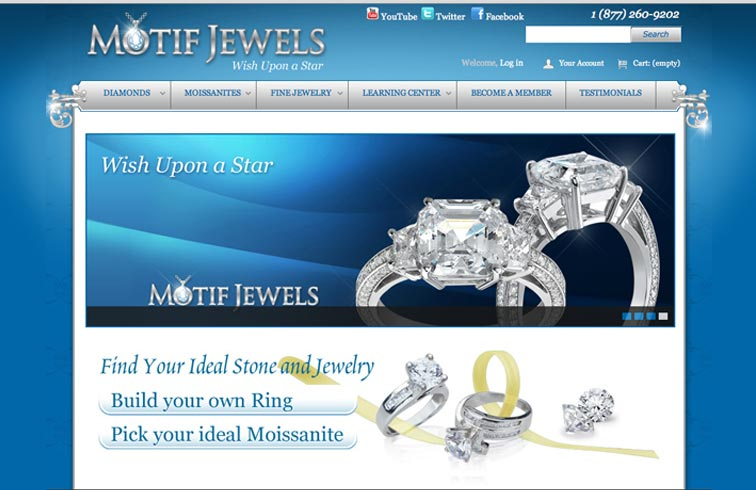 Motif Jewels Website