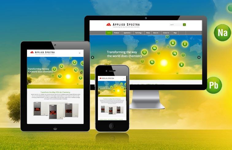 Applied Spectra Website