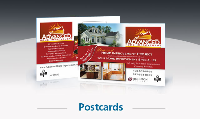 Postcards and Direct Mail Campaign