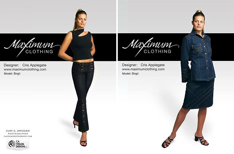 Maximum Clothing Ads
