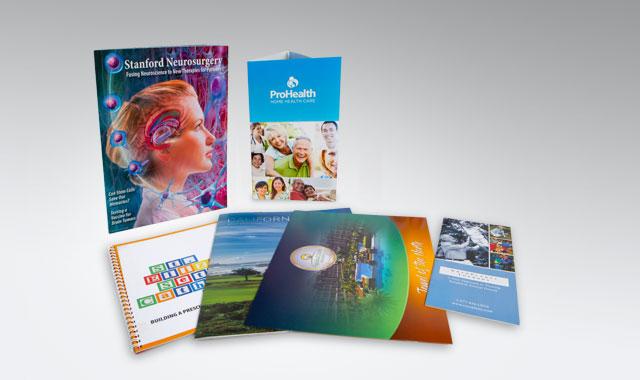 Magazine Style Brochures, Tri-fold, Z-fold, Booklet