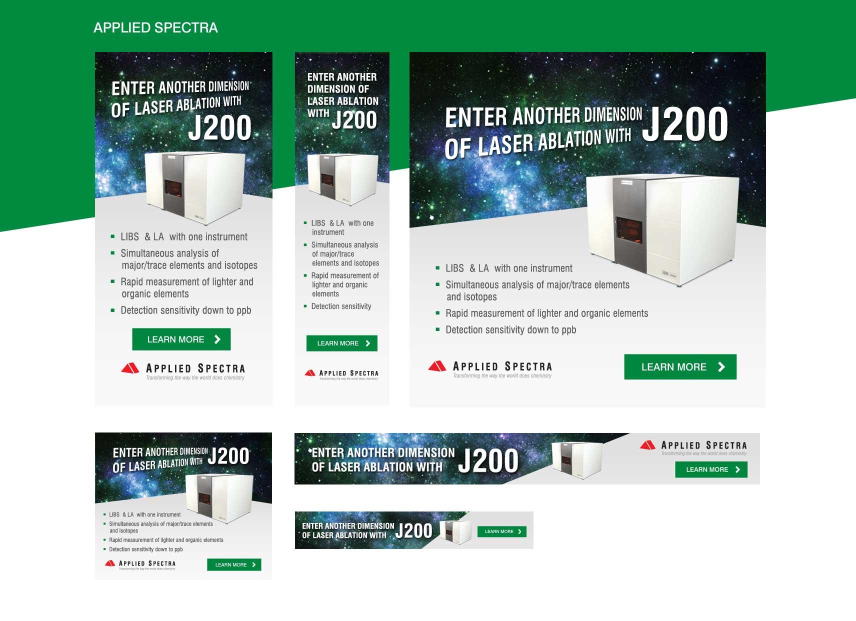 Applied Spectra Digital Ads